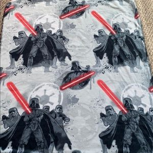 NWOT STAR WARS Fleece blanket/ throw